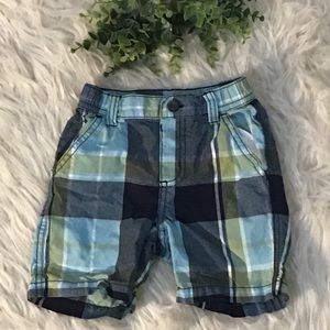 🎁5 For $15 Gymboree Toddler Boy Plaid Shorts